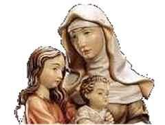 Sankt Anna und die Mutter Gottes